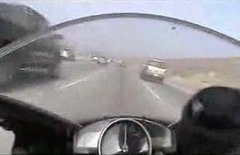 Thumbnail of Crazy motorcycle driving