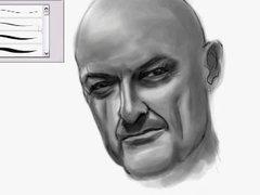 Thumbnail of Speed painting of John Locke