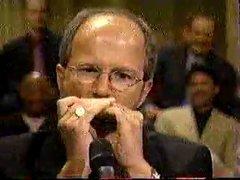 Thumbnail of Skilled harmonica musician