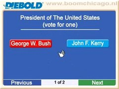 Thumbnail of US voting machine