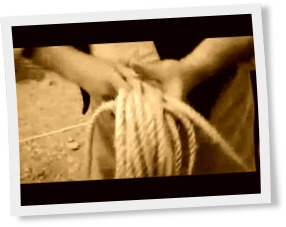 Thumbnail of How rope was made the old fashioned way