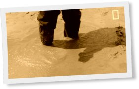 Thumbnail of Getting out of quicksand is harder than you think.