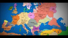 Thumbnail of Map of Europe - 1000 A.D. to present day