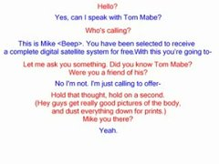 Thumbnail of Awesome prank on telemarketer