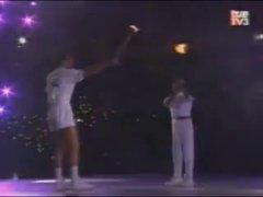Thumbnail of 1992 Barcelona Olympic flame lighting