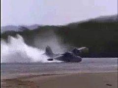 Thumbnail of Seaplane landing gone wrong