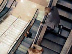 Thumbnail of Stuck on an escalator