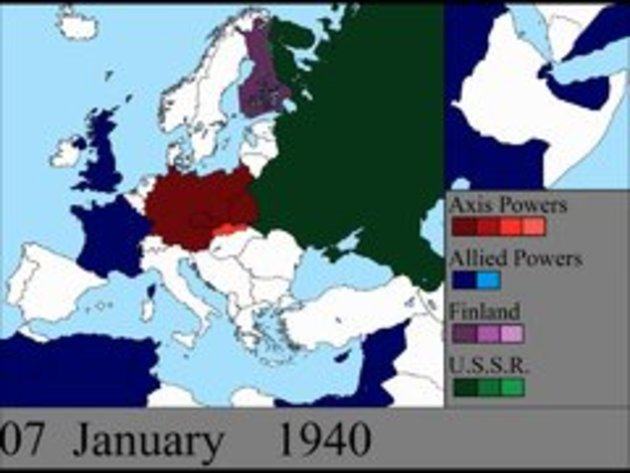 World war ii in europe day by day change in map snotr gumiabroncs Choice Image