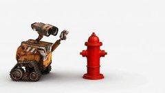 Thumbnail of WALL-E meets a fire hydrant