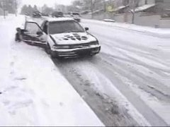 Thumbnail of Extremely slippery road