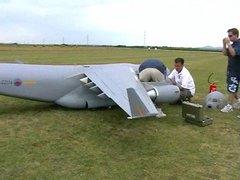 Thumbnail of Oversized R/C plane