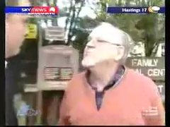 Thumbnail of Pedophile goes nuts at reporter on Australian News