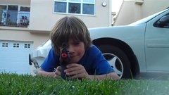 Thumbnail of Kid Breaks Friends Camera With Airsoft Gun