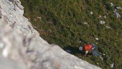 Thumbnail of World's longest highline (Slackline 537m-1762 feet) in Switzerland destroyed by  lightning