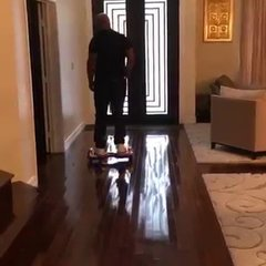 """Thumbnail of Mike Tyson Falls Off His """"Hoverboard"""""""