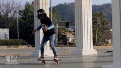 Thumbnail of Amazing 12 Year Old Freestyle Skateboarder!