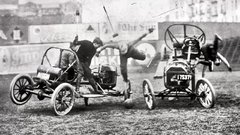 Thumbnail of The 1915 Auto Polo Event in Hibbing,Mn