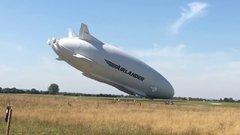Thumbnail of World's biggest aircraft crashes