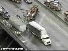 Thumbnail of Bad truck accident