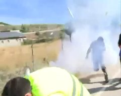 Thumbnail of Live News Report Captures An Epic Rocket Launcher Fail