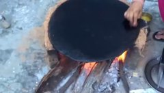 Thumbnail of Cooking of special Monsoon roti recipe named as charolia in Jammu and Kashmir