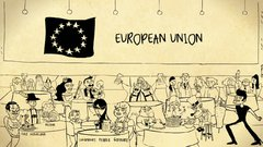 Thumbnail of The History of the EU with David Mitchell