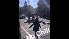 Thumbnail of Young Woman Gets Bodied by a Police Horse After Slapping It | Kingston, Ontario
