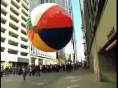 Thumbnail of Giant urban beach ball