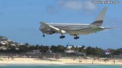 Thumbnail of Jet blast in St. Maarten