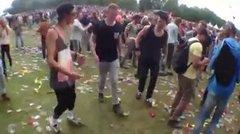Thumbnail of Ravers 'dancing'.