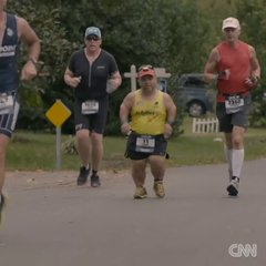Thumbnail of Athlete tries to become first dwarf ironman