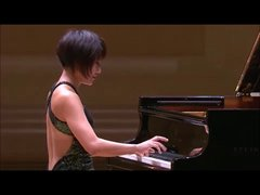 Thumbnail of Yuja Wang going off the rails with Mozart