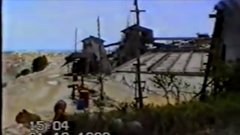 Thumbnail of Tin mine excavated too close to the ocean causes massive landslide - Indonesia 1993