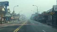 Thumbnail of Driving through Downtown Gatlinburg after the Fire