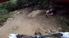 Thumbnail of Dan Atherton Sends It Down the Hardline MTB Track | Red Bull Hardline: GoPro View