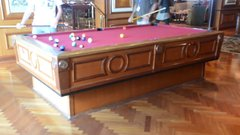 "Thumbnail of Gyroscopic self-leveling pool table on the cruise ship ""Radiance of the Seas"""