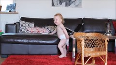 Thumbnail of Dancing baby shows off adorable moves