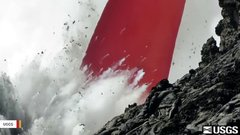 Thumbnail of Watch A Lava 'Fire Hose' Stream Into Pacific Ocean