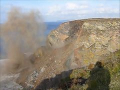 Thumbnail of North Cliffs Failure - Amazing Cliff Collapse caught on Camera!