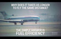 Thumbnail of Here's why flights take longer than they did 50 years ago