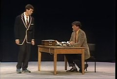 Thumbnail of Stephen Fry & Hugh Laurie - 'The Headmaster and the Pupil""