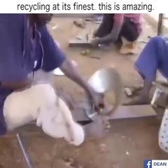 Thumbnail of Recycling at its finest