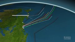 Thumbnail of Animated map reveals the 550,000 miles of cable hidden under the ocean that power the internet