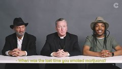 Thumbnail of A Rabbi, a Priest and an Atheist Smoke Weed Together