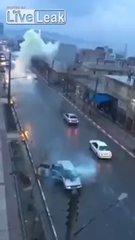 Thumbnail of Lightning hit a car with passengers inside - Lighting Strike