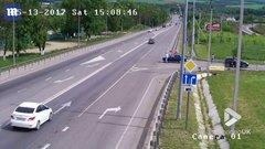 Thumbnail of Russian cyclist evades death