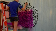 Thumbnail of Mandala Wall Art | NO STENCILS