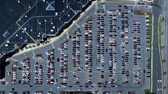 Thumbnail of Busy Parking Lot Time-Lapse