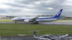 Thumbnail of This is how all passengers airplanes should take off ! ANA Boeing 787 Dreamline