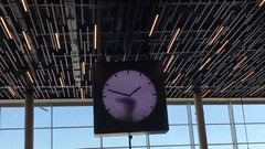 Thumbnail of Clock in the Amsterdam Airport